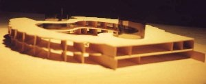 Photo of Model of Project Mind Facility